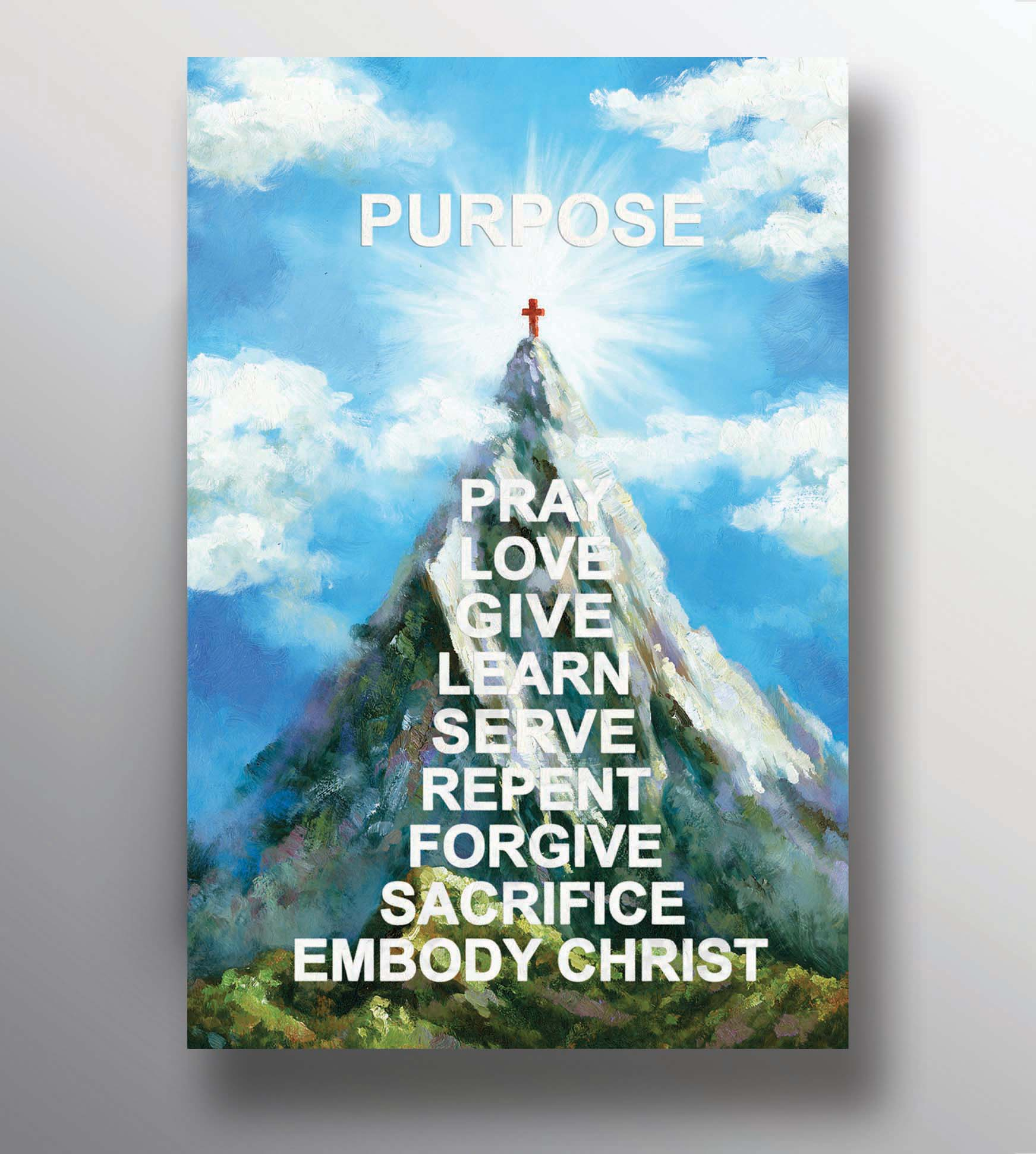 Purpose Mountain - 12 x 18